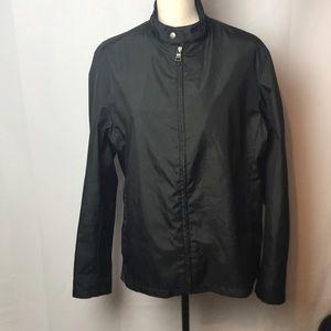 Banana Republic Jackets & Coats - BANANA REPUBLIC MENS SZ M LIGHTWEIGHT BLACK JACKET